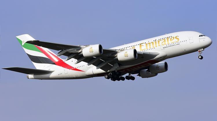 Emirates A380 Aircraft Plane